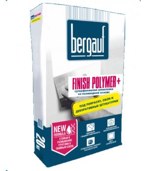Шпатлевка Бергауф Finish Polymer + финишная на полимерной основе 25 кг