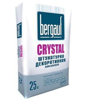 Штукатурка Бергауф Crystal 2,5 мм, декоративная камешковая, 25 кг