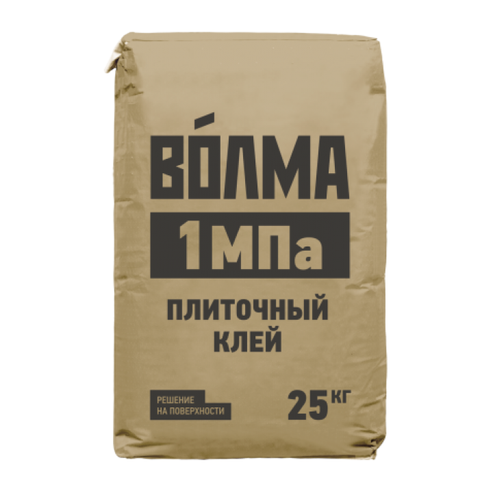 Клей цементный Волма 1 МПа 25 кг