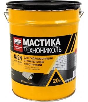 Мастика битумная МГТН №24 Технониколь (20кг)