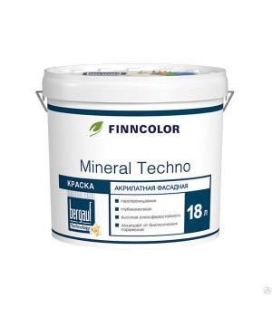 Краска Finncolor Mineral Techno, База А, 18 л