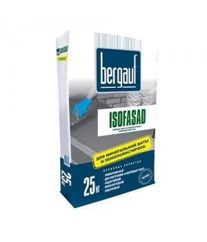 Клей Бергауф Isofasad для плит из пенополистирола и минеральной ваты 25 кг