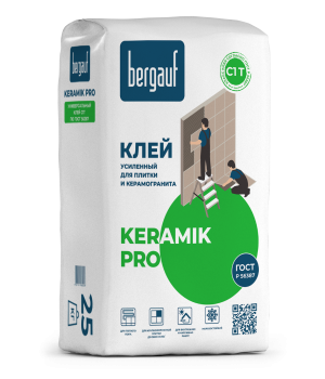 Клей Бергауф Keramik Pro плиточный 25кг