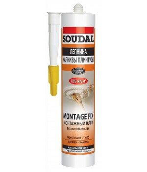 Жидкие гвозди Montage Fix Soudal вод/осн15* 300мл 120066