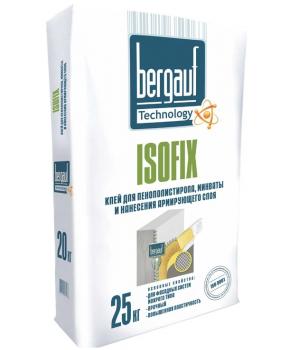 Клей Бергауф Isofix для армировки и теплоизоляции 25кг